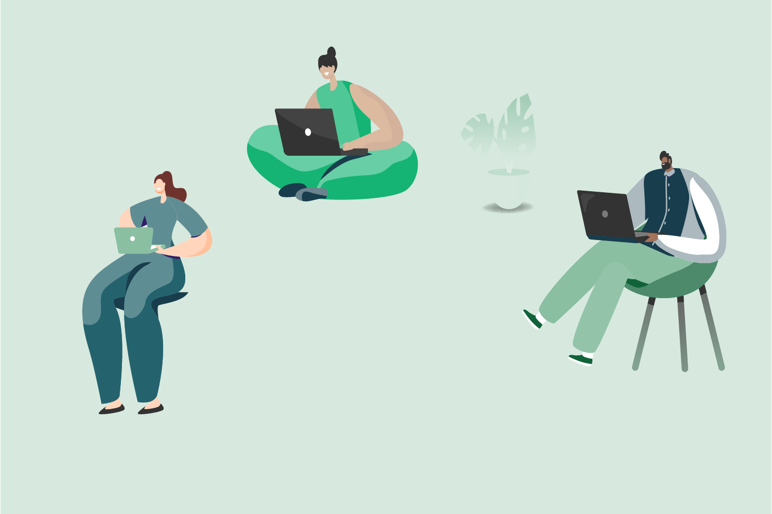how to stay focused when working remotely@2x